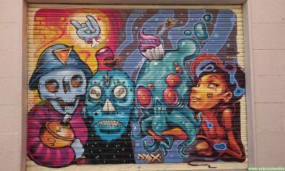 El arte urbano del Barrio del Carmen